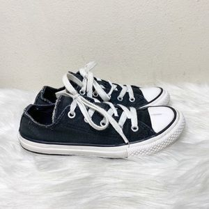 Converse All Stars Black Sneakers Size 1